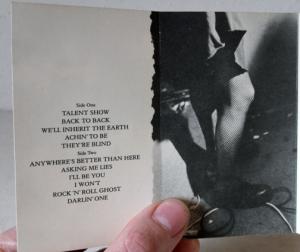 Still got it — Don't Tell a Soul tape from 1989.