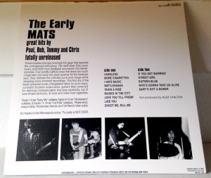 early-mats-back